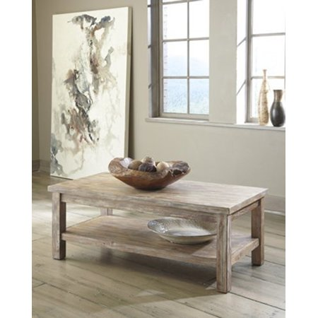Ashley Furniture T500 301 Rustic Accents Rectangular Tail Table By
