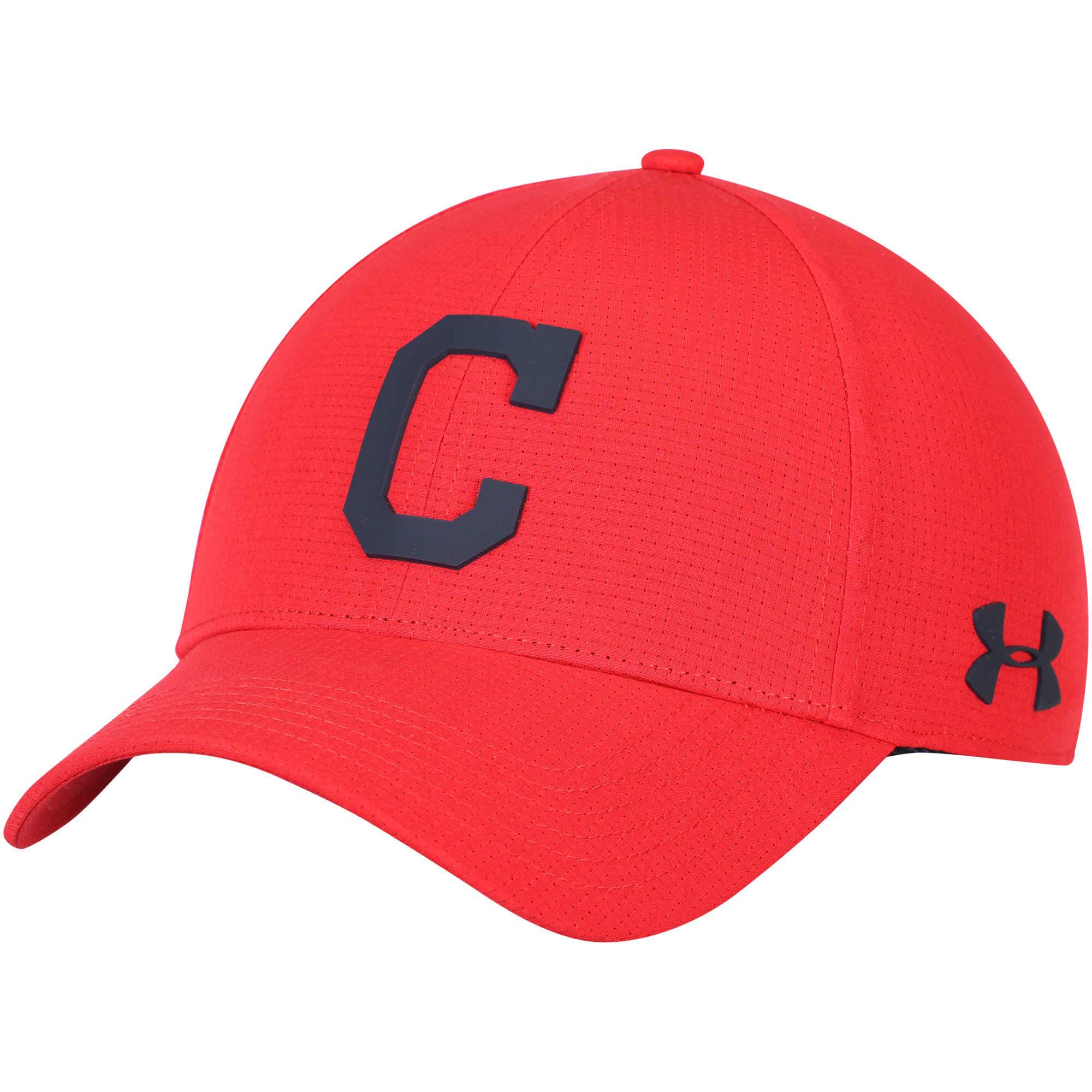Cleveland Indians Under Armour MLB Driver Cap 2.0 Adjustable Hat - Red - OSFA