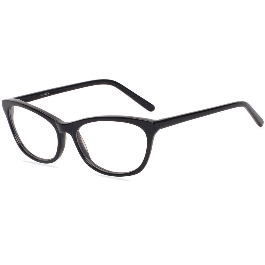 Contour Womens Prescription Glasses, FM14093 Black