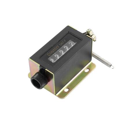5stk Coque noire D67 Ressort de f 5 chiffres rückstellbare Compteur Traction mécanique - image 1 de 4