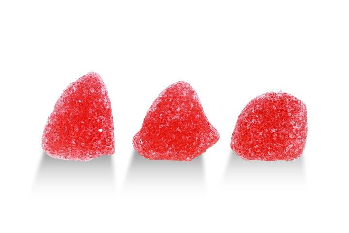Aroma Konfektyrer, Raspberry Gum Drops Gelehallon (2 Lbs)