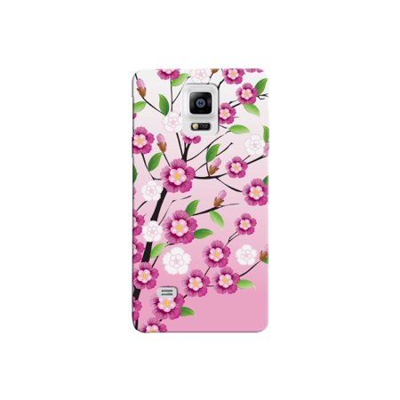 Cherry Blossom Flower Phone Back Cover for the Samsung Note 4 Floral Case By iCandy -