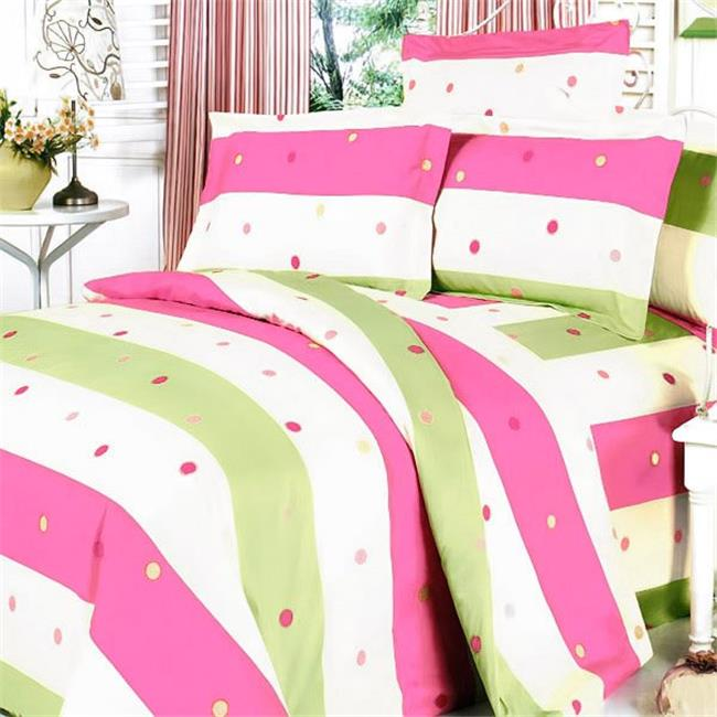 MINICFRS-MF07-3/CFR01-3 Colorful Life Luxury 4 Piece Queen Mini Comforter Set Combo 300GSM