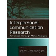 Interpersonal Communication Research - eBook