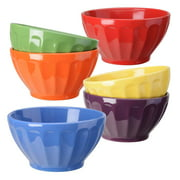 6-Pc Assorted Fluted Bowl Set