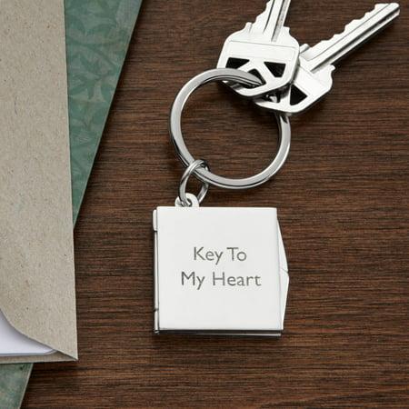 personalized key to my heart keychain walmart com