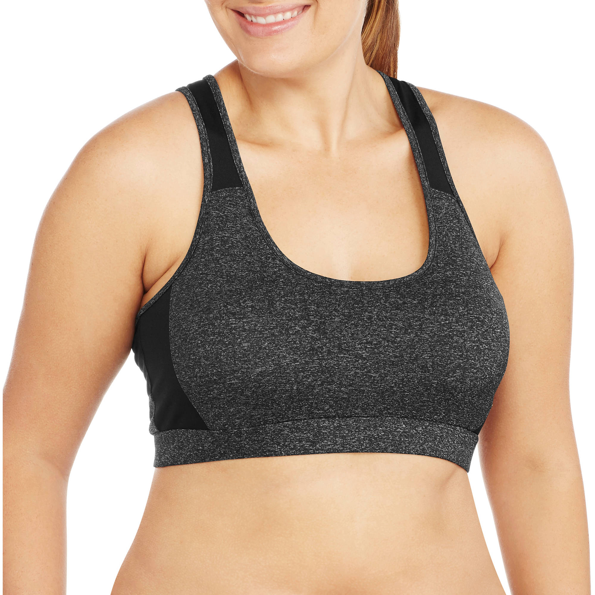 Women's Plus-Size  Sports Bra With Reflective
