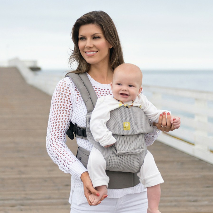 LILLEbaby Airflow Baby Carrier Mist by lillebaby