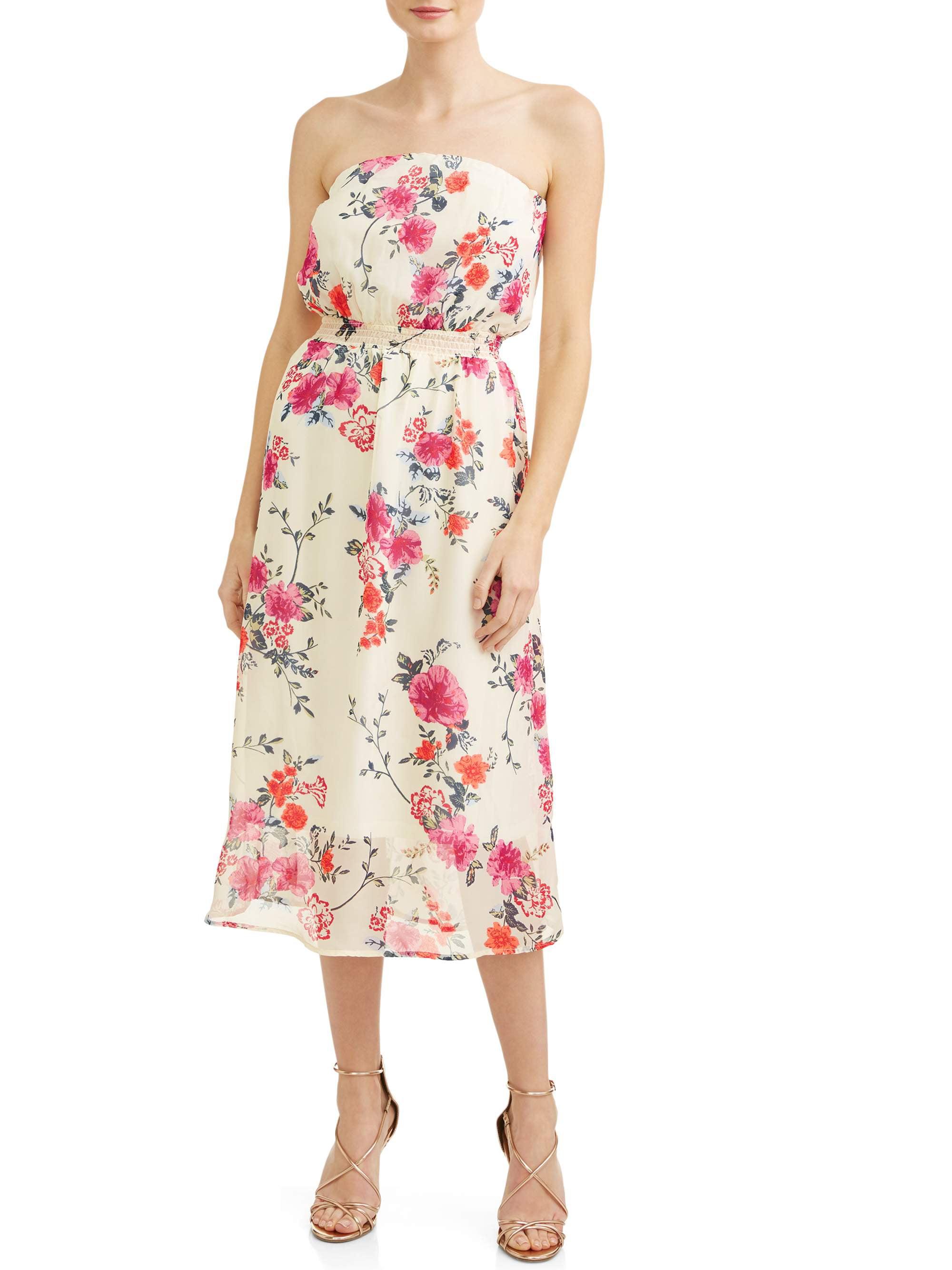 Junior's Floral Dress