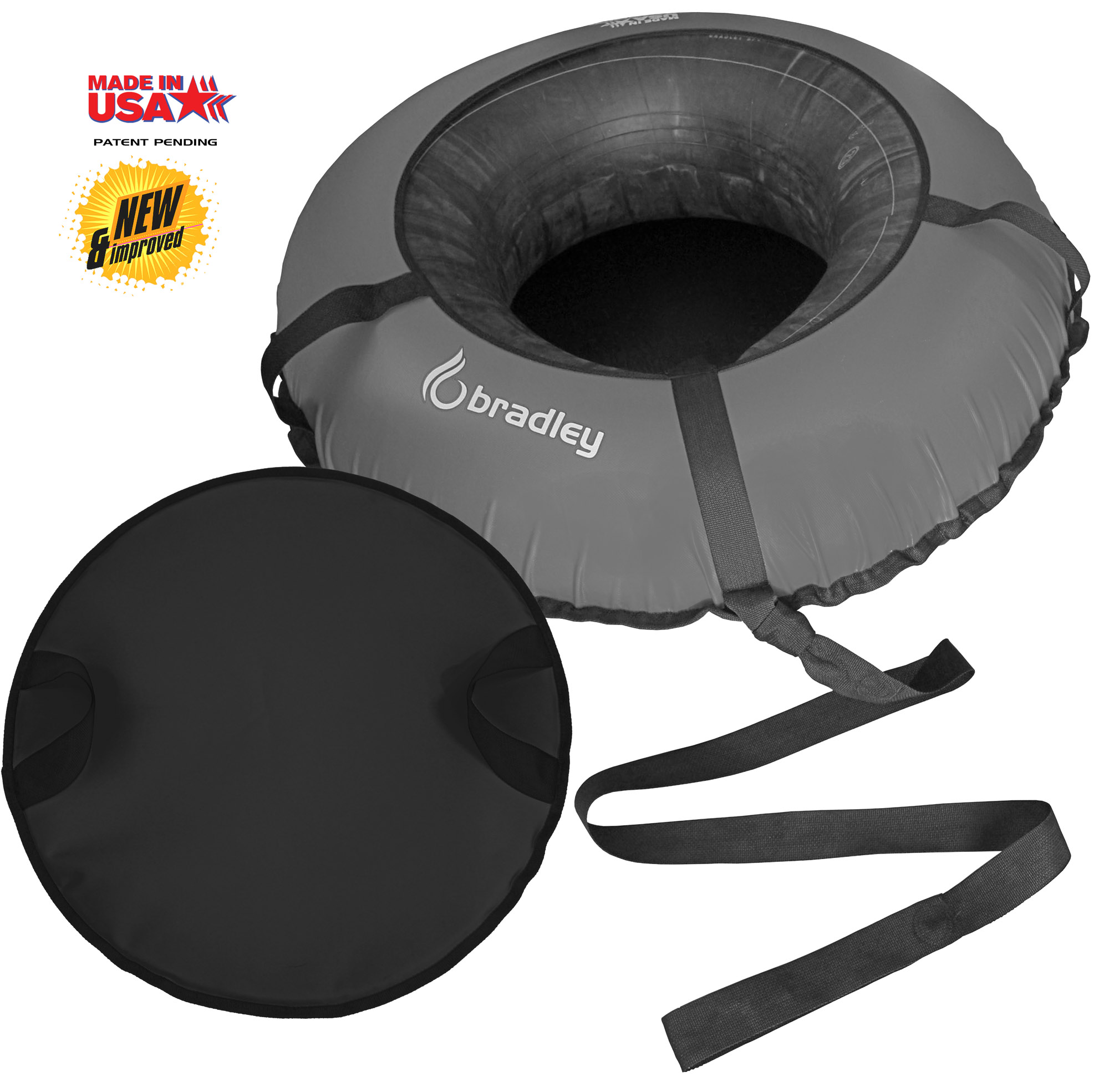 "Bradley Snow Tube Sled (Deluxe Edition) with 48"" Cover by Bradley"