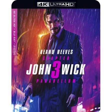 Walmart: John Wick: Chapter 3 Parabellum (4K Ultra HD + Blu-ray + Digital) Only $24.96 **Pre-Order**
