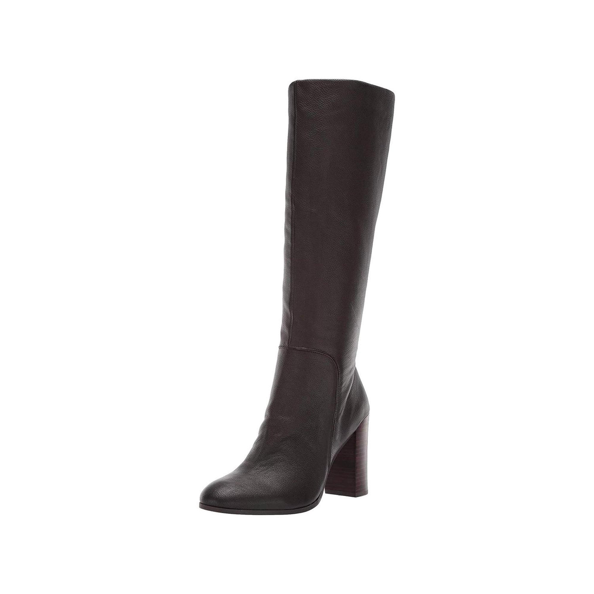 d076e263b47 Kenneth Cole New York Womens Justin Leather Almond Toe Knee