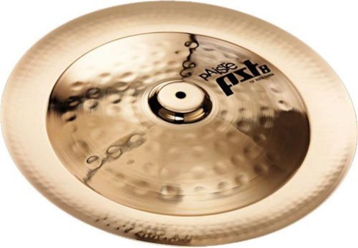 "18"" Paiste PST8 Reflector Rock China Cymbal 1802518 by Paiste"