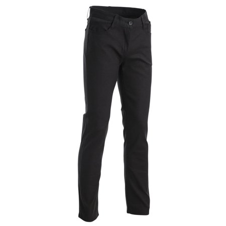 FLATSEVEN Mens Slim Fit Flat Front 5 Pocket Casual Twill Chino Pants Trousers (CH2000)