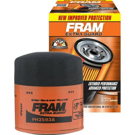 FRAM Extra Guard Oil Filter, PH3593A