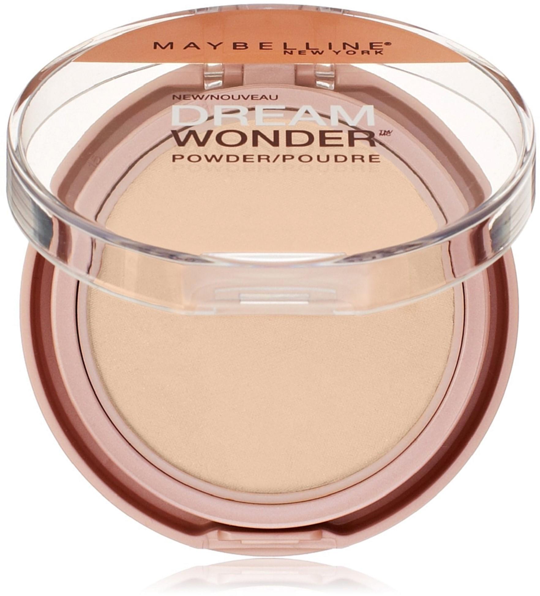 Maybelline New York Dream Wonder Powder, Ivory 0.19 oz (Pack of 2)
