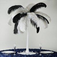 "36"" White Eiffel Tower Wedding Centerpiece Glass Vases Table Decor - 6 PCS"