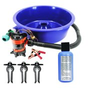 Blue Bowl Concentrator Kit, Leg Levelers, Magic Drops - Gold Mining Equipment