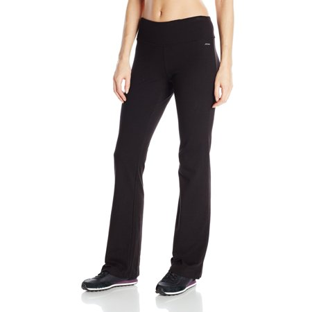 Jockey NEW Black Womens Size XL Slim Bootleg Pants Athletic Apparel