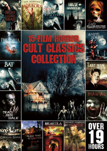 15-Film Horror Cult Classics Collection ( (DVD)) by ECHO BRIDGE ENTERTAINMENT