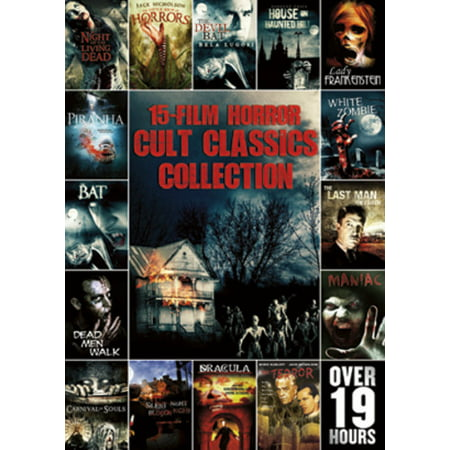 15-FILM HORROR CULT CLASSICS COLLECTION (DVD/3DISCS) (DVD)](Independent Horror Films)