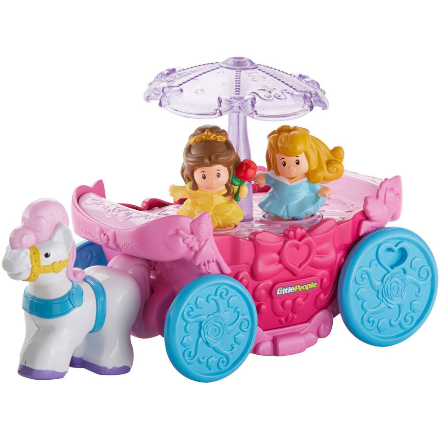 Fisher Price Disney Princess Carousel Carriage by Little People