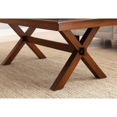 Better Homes And Gardens Maddox Crossing Coffee Table Cognac Best Accent Tables