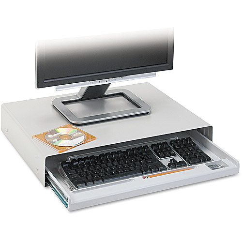 Innovera Standard Desktop Keyboard Drawer, Light Grey