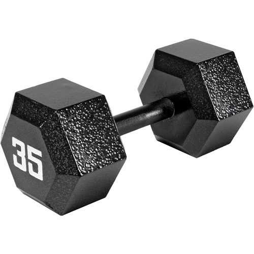 Marcy 35 lb EcoWeight Iron Dumbbell: IV-2035  - Sold Individually