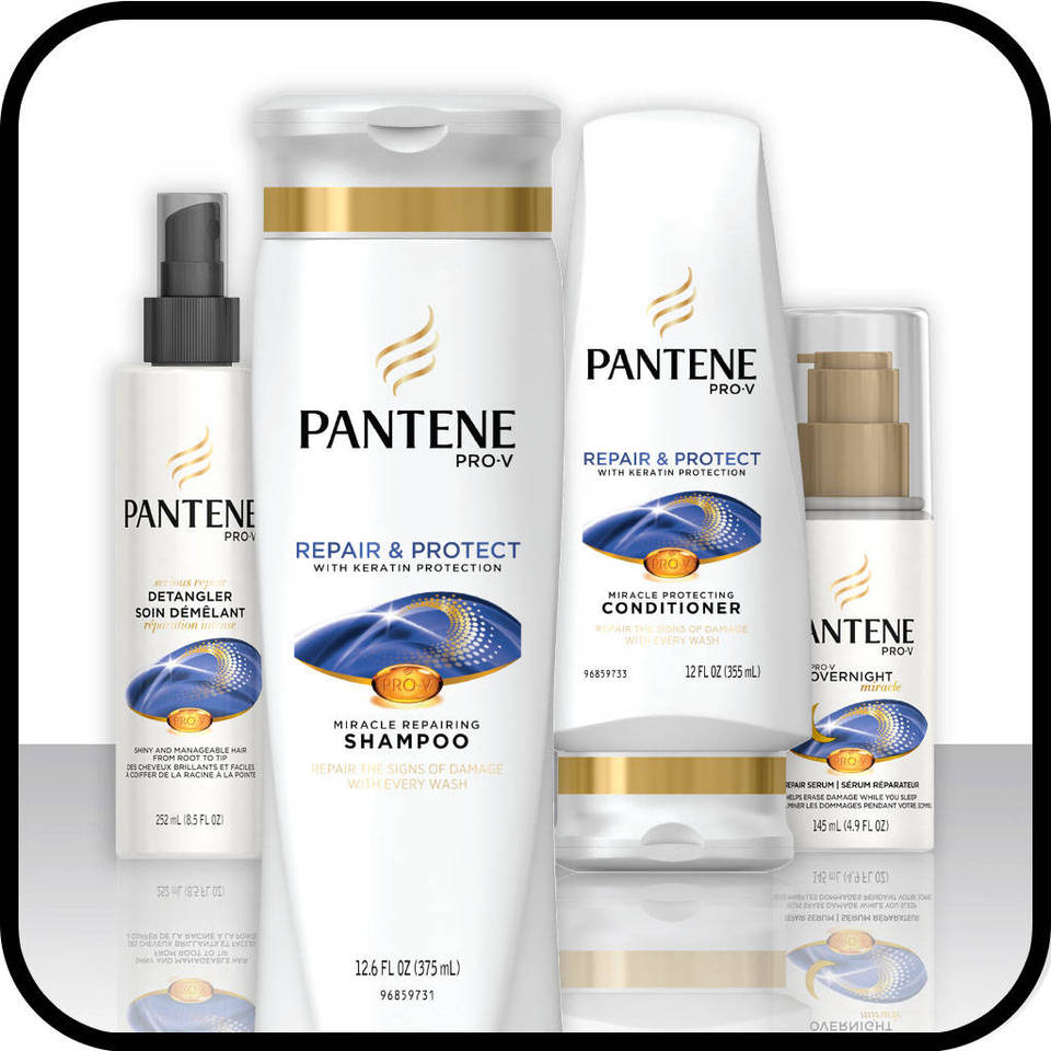 Pantene Pro-V Repair & Protect Hair Care Collection
