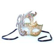 Mika Costume Mask: Beige/Gold/Pink