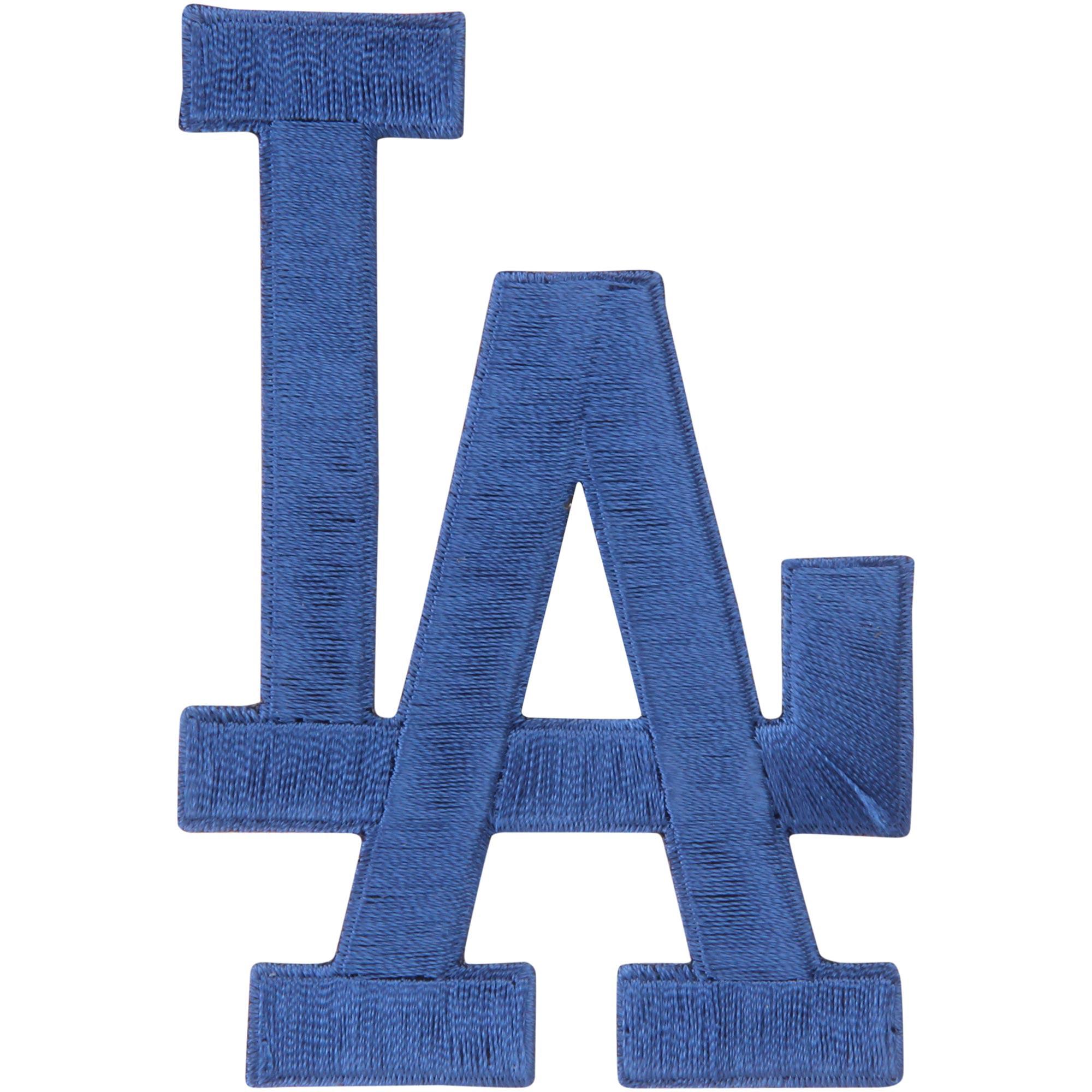 Los Angeles Dodgers LA Emblem Sleeve Patch - No Size