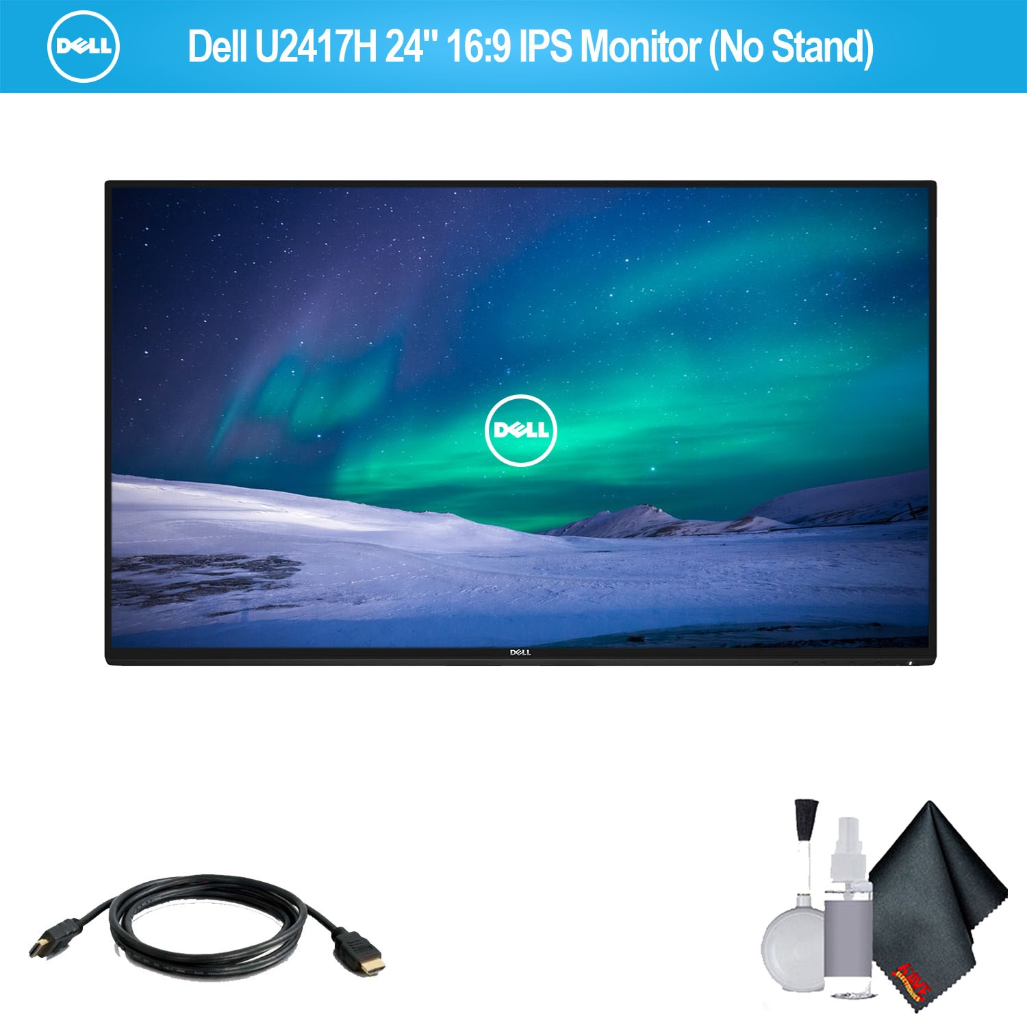 """Dell P2217H 22"""" 16:9 IPS Monitor (No Stand) - 5 Pack"""