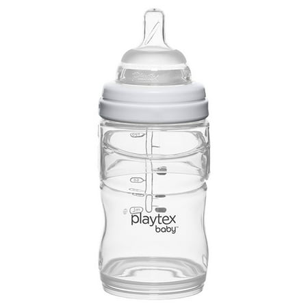 Playtex Baby Nurser With Drop-Ins Liners 4oz Baby Bottle (Plaza Bottle)