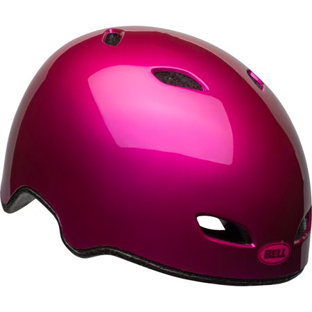 Bell Pint Bike Helmet, Gloss Pink, Child 5+ (50-56cm) Pink Riding Helmet