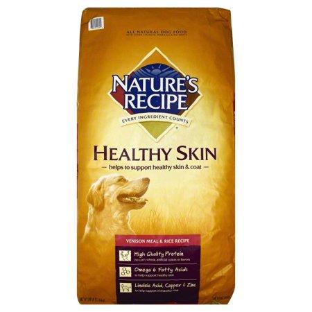 Nature's Recipe Venison Meal & Brown Rice Recipe Dog Food, 30-Pound Bag