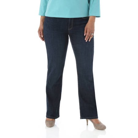 b121fca38d1 Riders by Lee Women  s Plus-Size Slender Stretch Slimming Bootcut Jeans