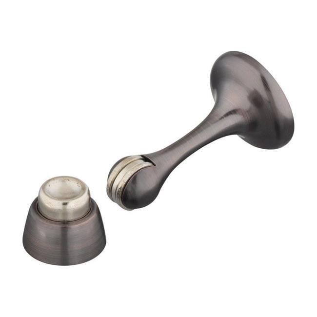 National Hardware 5002024 3 in. Die Cast with Steel Tip Magnetic Door Stop - Antique Bronze - image 1 de 1