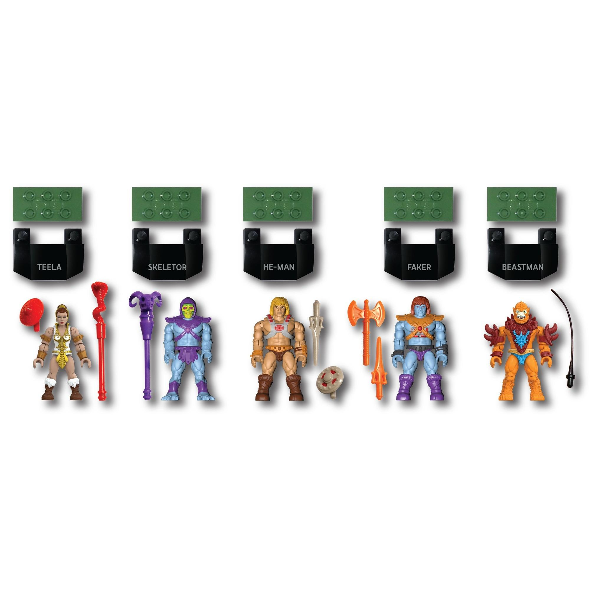 Mega Construx Heroes Masters of the Universe Figure Pack