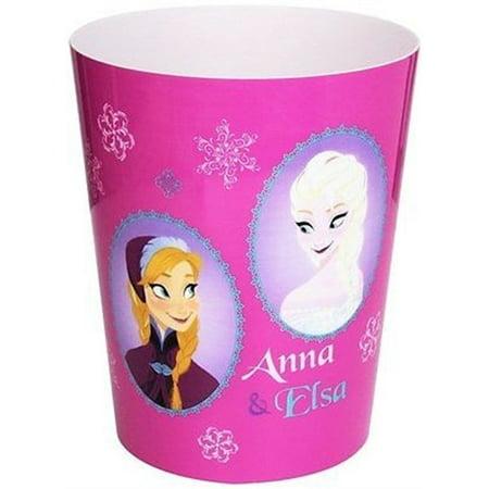 Pink Polka Dot Wastebasket - Disney Frozen Snowflake Sisters Wastebasket