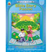 Bible Story Puzzles, Grades 1 - 3 : With Mini-Lessons on the Goodness of God
