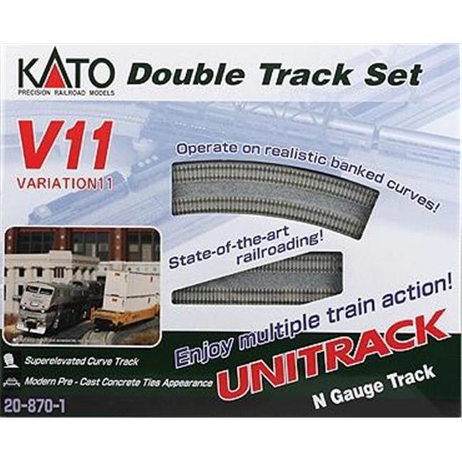 Kato KAT208701 N V11 Double Track Set