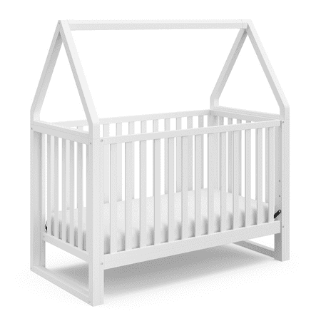 Moon Canopy Crib (Storkcraft Orchard Canopy 5-in-1 Convertible Crib White/White )