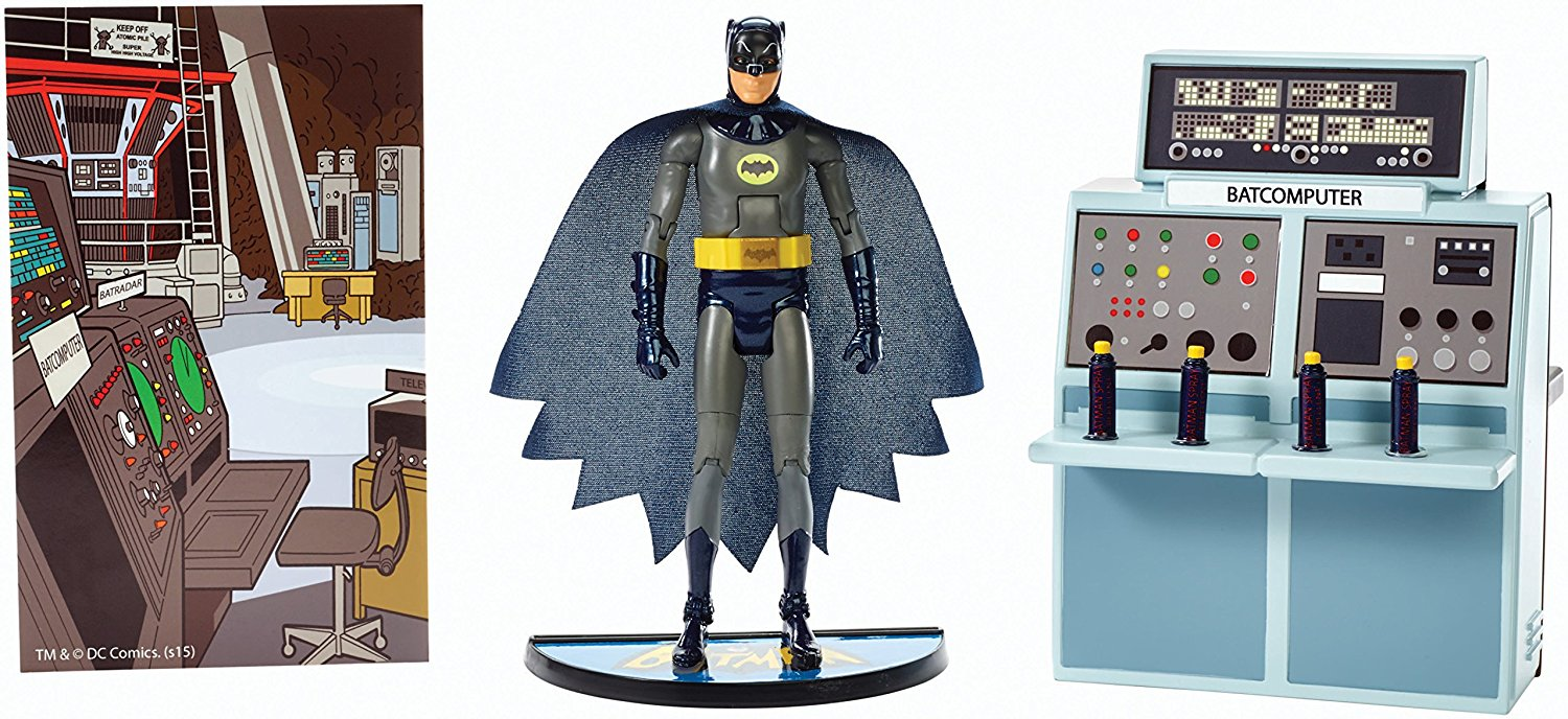 Batman 6-Inch Classic TV Series: To the Batcave! Batman Figure, Celebrates the groovy fun... by