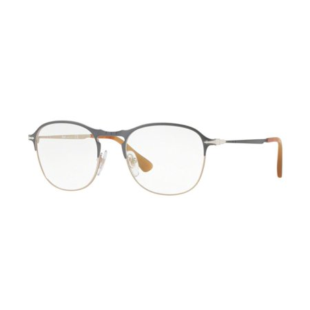 adaf2acffeba Authentic Persol Eyeglasses PO7007V 1071 Gray Light Brown Frames 49MM  Rx-ABLE