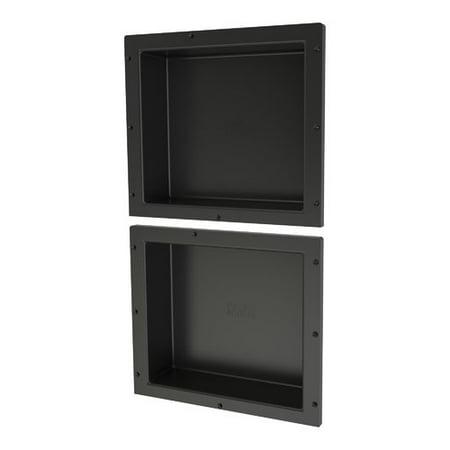 Tile Redi Double Recessed Shelf