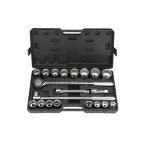 20 Pc 3/4 in. Drive SAE Jumbo Heavy Duty Socket Set