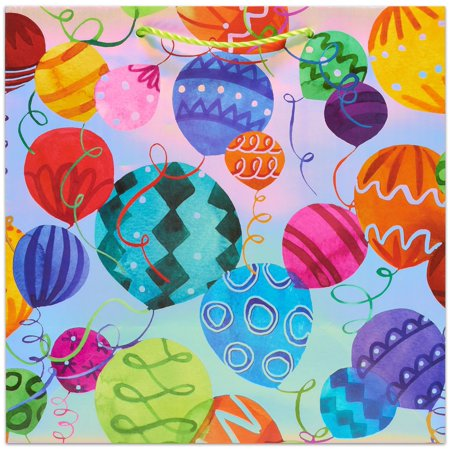Papyrus Gift Bag 11375x6x11375 1pkg Patterned Balloons