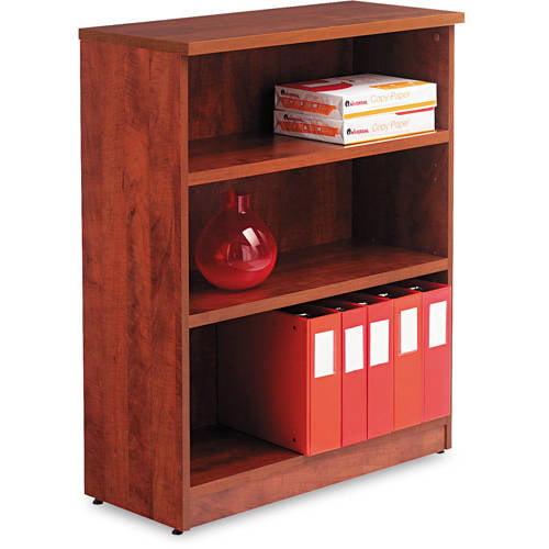 Alera Valencia Series 3-Shelf Bookcase, 31 3/4w x 14d x 39 3/8h