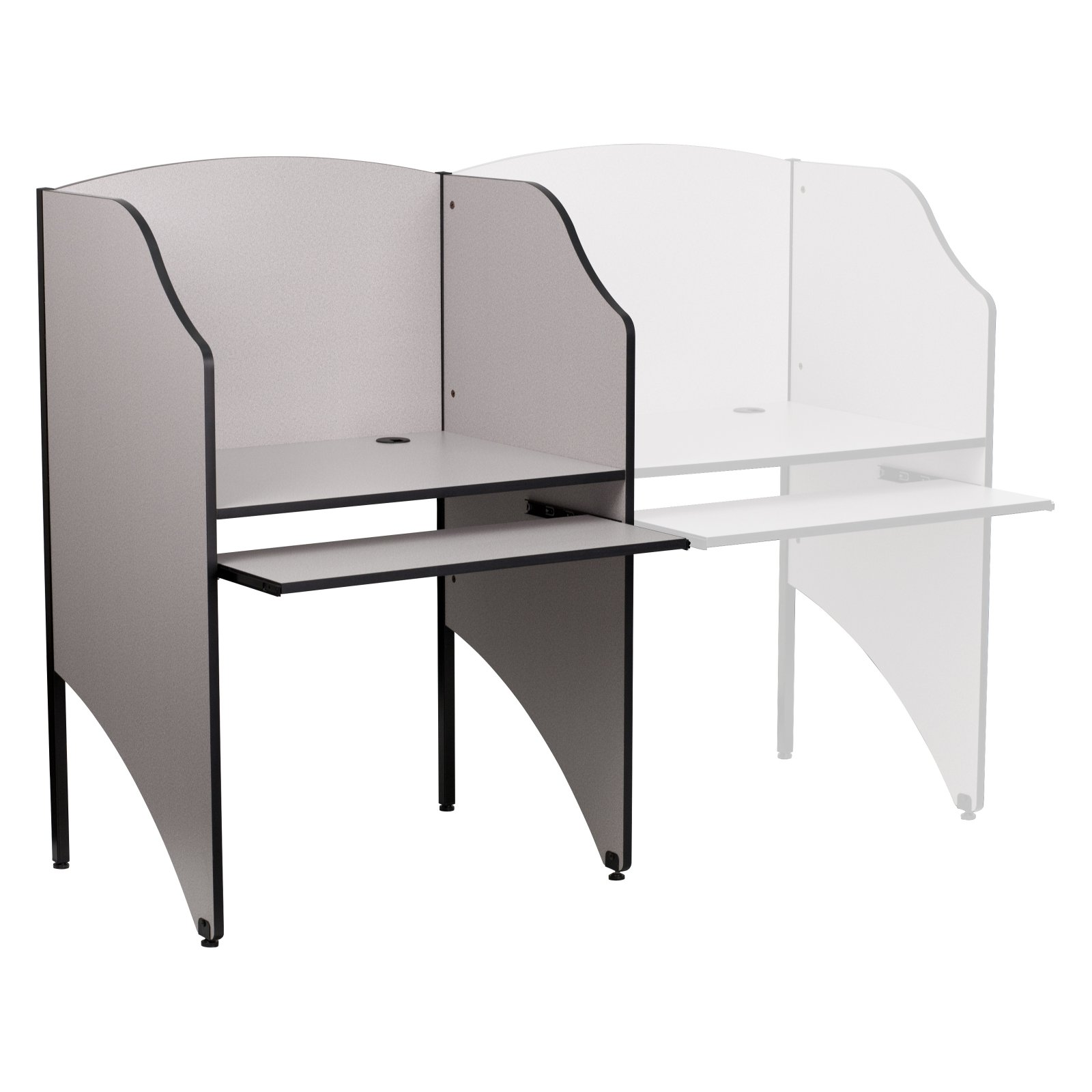 Flash Furniture Starter Study Carrel